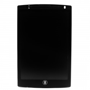 """Tableta LCD pentru scris si desenat, buton de stergere, buton de blocare, 10"""", Negru"""