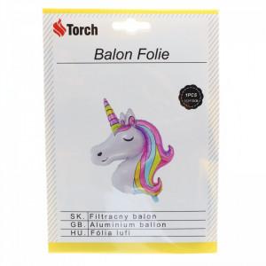 Balon folie, Unicorn, 103 x 78 cm, Multicolor
