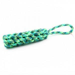 Jucarie impletita pentru animale, Verde, 30 cm