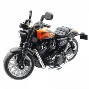 Motocicleta diecast, Chopper, 1:14