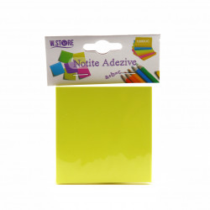 Notite Adezive 76x76, 100 file, Galben