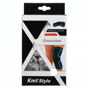 Orteza elastica pentru genunchi, ofera confort si siguranta, marime L, Negru