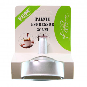 Palnie pentru espressor de cafea pentru aragaz, 3 cesti