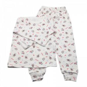 Pijamale copii, Model ursuleti si soricei, Model Romanesc, Bumbac, 5 - 6 ani, P56P7