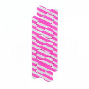 Set 2 bucati, despartitor degete pentru pedichiura, 11 x 3.5 cm, Roz