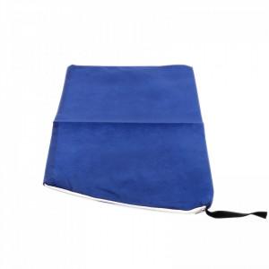 Set 2 bucati, Husa/saculet incataminte pentru depozitare, organizare sau transport, 25 x 25 cm, Albastru