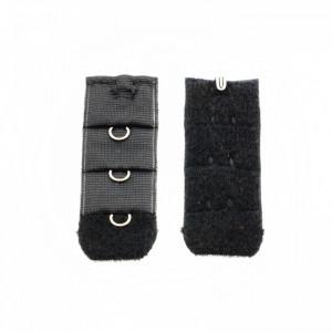 Set accesorii pentru sutien, cu 1 rand, Negru