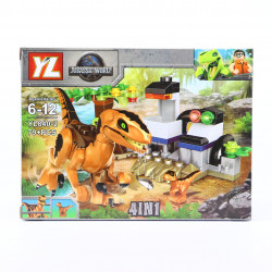 Set de constructie Lego, Femela dinozaur cu pui, 79 Piese