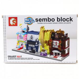 Set de constructie Lego, Magazin tip Prada, 109 prise