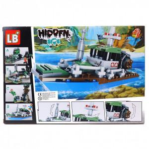 Set de constructie Lego, Vaporul bantuit, 186 piese
