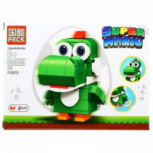Set de constructie, Super Mario, Yoshi, 74 piese