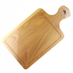 Tocator de lemn cu maner