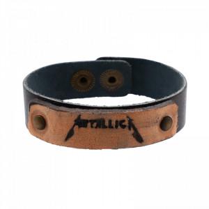 Bratara din piele, Metallica, 20 x 1,7 cm