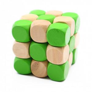 Cub neconventional, pentru stimularea inteligentei, Verde