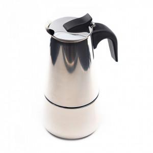 Espressor de cafea pentru aragaz sau plita cu inductie, 6 cesti
