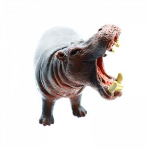 Figurina animal salbatic, Hipopotam, 11 cm