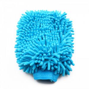 Manusa din microfibra pentru suprafete, Albastru, 24 cm