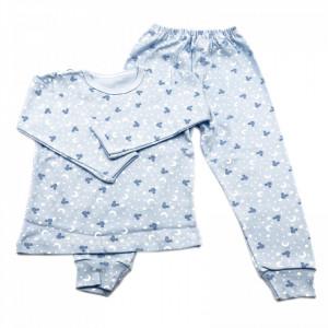 Pijamale copii, Model bleu cu Mickey, Model Romanesc, Bumbac, 4 - 5 ani, P45P11