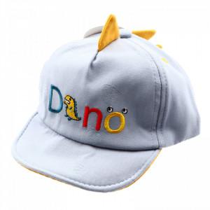 Sapca pentru copii, cu imprimeu Dino, 3-7 ani, Bleu