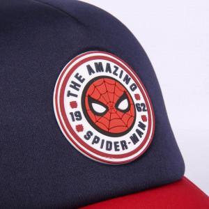 Sapca Spiderman cu plasa, Albastru, 56 cm