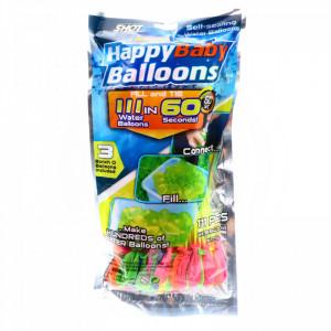 Set 111 Baloane cu apa, tip bomba cu apa, adaptor de umplere inclus