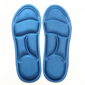 Set 2 bucati branturi ortopedice din spuma cu memorie, marime 40-46, Albastru