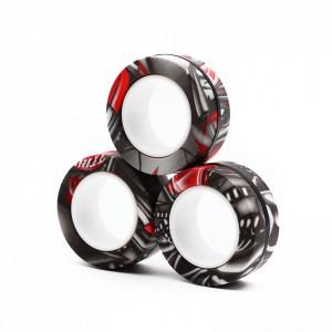 Set 3 inele magnetice doufu antistres, Negru