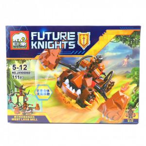 Set de constructie Lego, Moara de lava, 111 piese