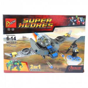 Set de constructie Lego, Nava de lupta, 113 piese