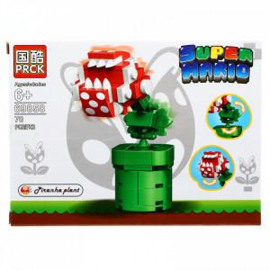 Set de constructie, Super Mario, Piranha Plant, 70 piese