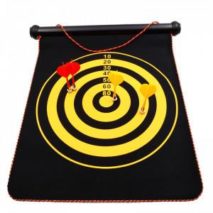 Joc Darts cu 6 sageti incluse, Magnetic, Multicolor