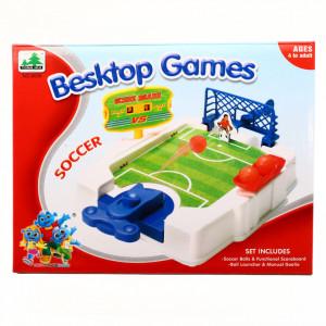 Joc fotbal tras la poarta, sistem de tragere, tabela de scors, portar