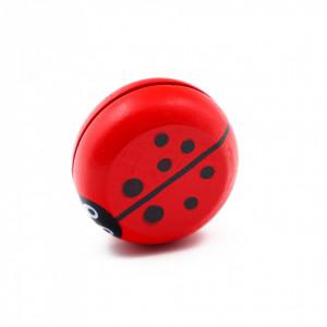Jucarie Yo-Yo din lemn, Rosu