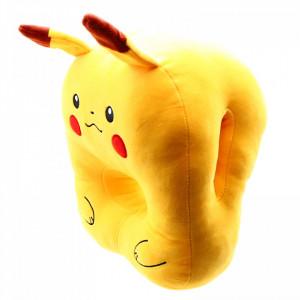 Perna Pokemon Pikachu, cu loc pentru maini, pentru copii, 20 x 28cm, Galben