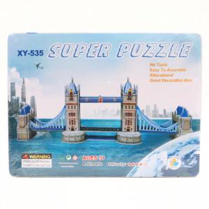 Puzzle 3D carton, Tower bridge