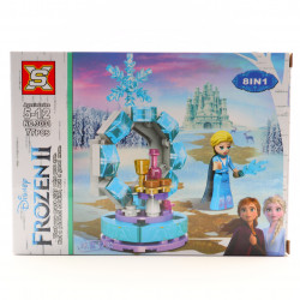 Set de constructie, Elsa si portalul de gheata, 77 piese