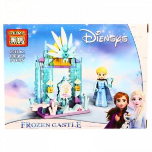 Set de constructie, Frozen si castelul fermecat, 96 piese