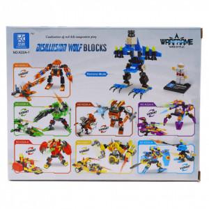 Set de constructie Lego, Disillusion Wolf, 89 piese