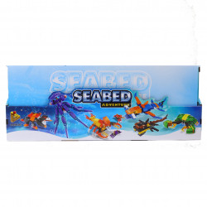 Set de constructie Lego, Seabed Animale marine 6 in 1, 586 piese