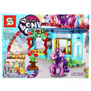 Set de constructie, My Little Pony si magazinul de bijuterii, 110 piese