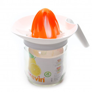 Storcator citrice cu capac de filtrare, 425 ml, Portocaliu