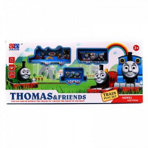 Trenulet electric Thomas si prietenii cu sina, 2 vagoane