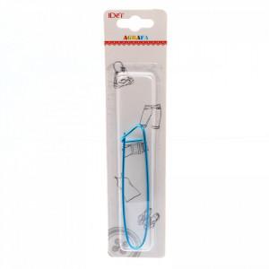 Agrafa / Opritor ochiuri tricotat, 15 cm, Albastru