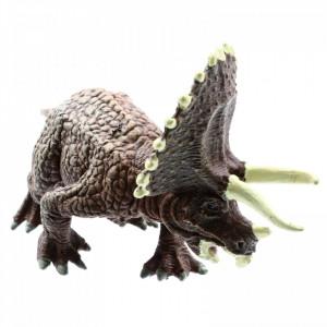 Figurina dinozaur, Triceratops, 16 cm