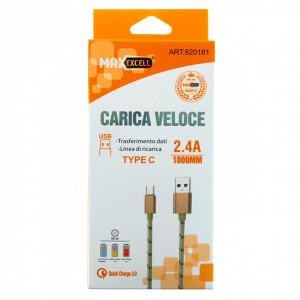 Incarcator cablu de date USB/Type C, Quick Charge, 1m