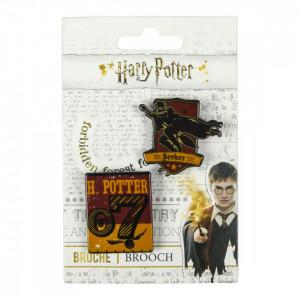 Insigna Harry Potter, Seeker, 4 x 3.5 cm