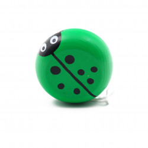 Jucarie Yo-Yo din lemn, Galben
