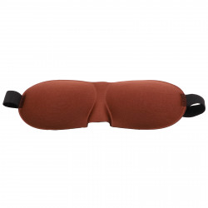 Masca pentru dormit, reglabila, 23 x 9 cm, Maro