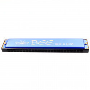 Muzicuta, Bee, 17.8 cm, 24 gauri, Albastru