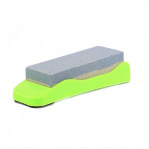 Piatra ascutit cutite cu suport, 115 mm